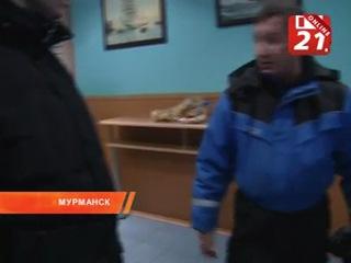"""Убийство в баре """"Пилигрим"""" в Мурманске. 21.01.2013. ТВ-21"""
